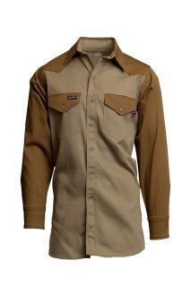 FR Two-Tone Western Shirts | 7oz. 100% Cotton-