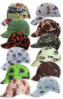 6-Panel Welding Caps|100%Cotton-