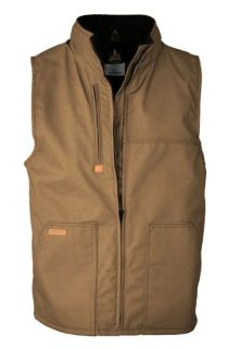 FR Fleece-Lined Vest with Windshield Technology-LAPCO FR