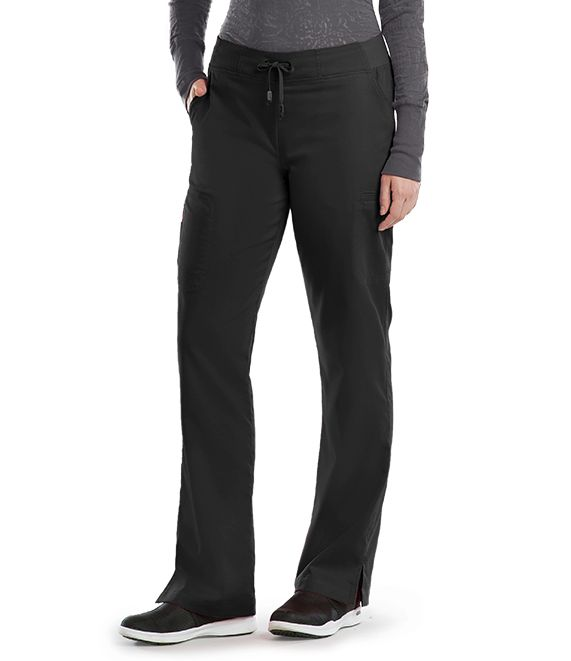 6 Pocket Tie Front Pant-Greys Anatomy