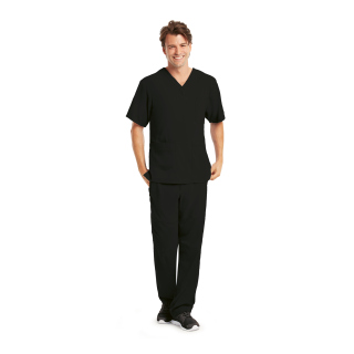 Mens 6 Pocket Lapover V-Neck