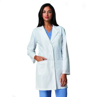 "Missy 35"" 4 Pocket Lab Coat"