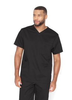 Unisex 3pkt Classic V-Neck Top-Barco Essentials
