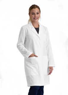 "Women 3pkt Cb 34"" Lab Coat-"