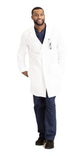 "Unisex 3pkt Cb 38"" Lab Coat-Barco Essentials"