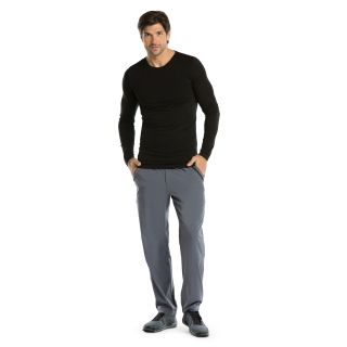 Long Sleeve Male Knitted Seamless Tee