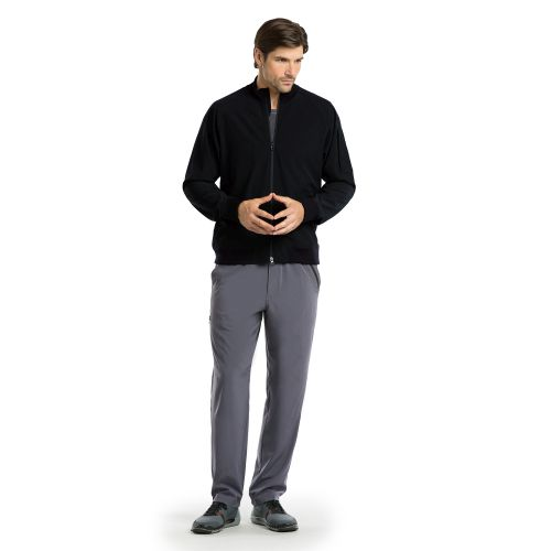 Barco One Men's Three Pocket Bomber Scrub Jacket-