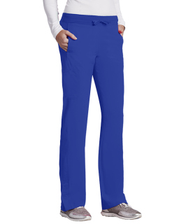 Barco 4 pocket Knit Waist Seamed Women's Pant