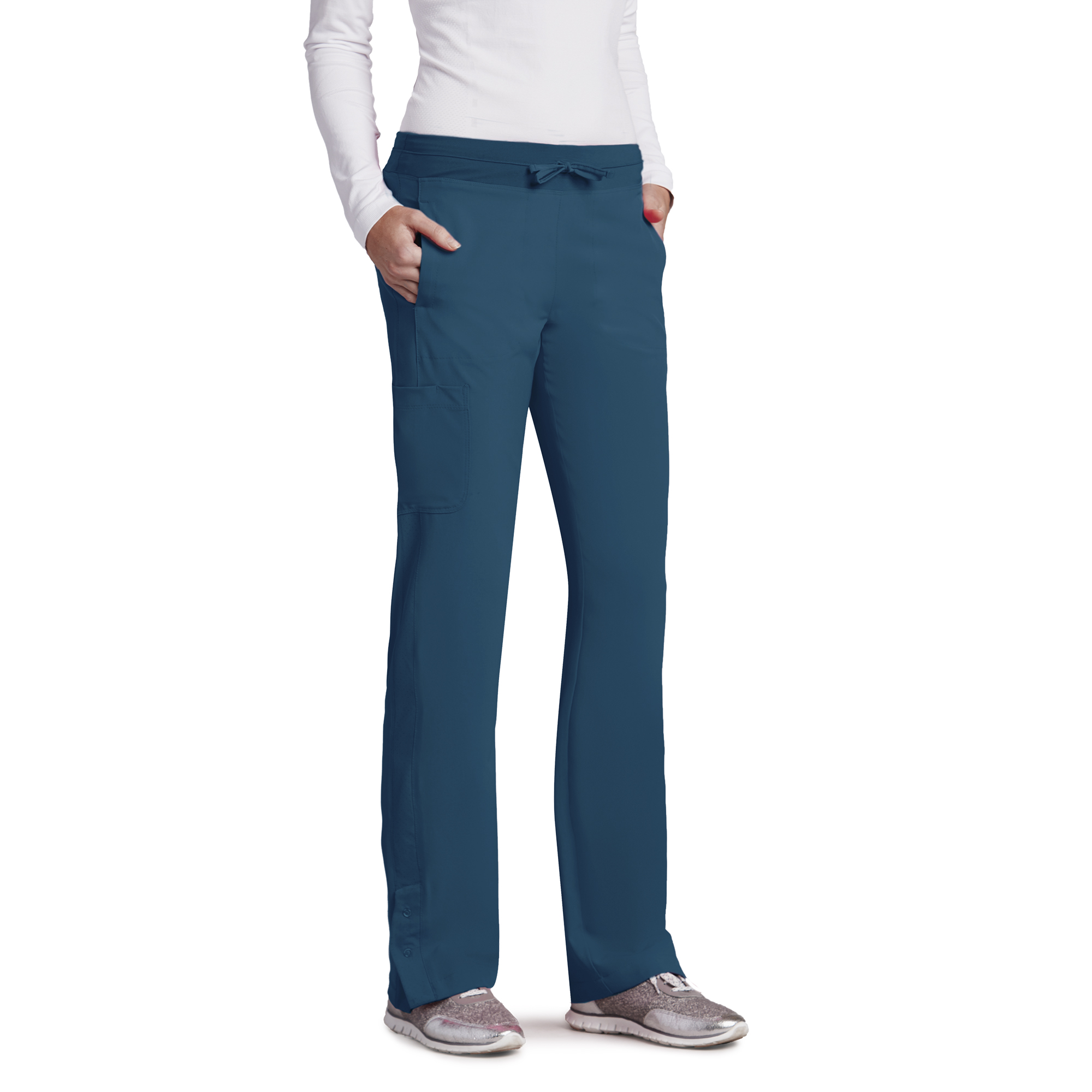 Barco One 4 Pocket Knit Waist Seamed Pant-Barco One