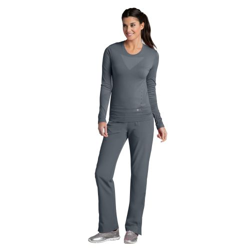 Barco One Scrubs - Long Sleeve Knitted Seamless Tee -Barco One
