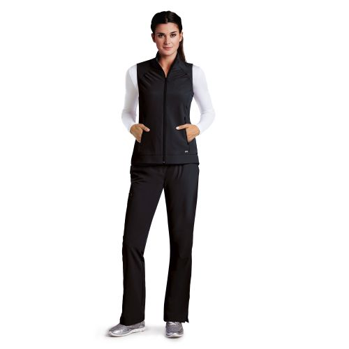 2 Pocket Zip Front Vest-Barco One