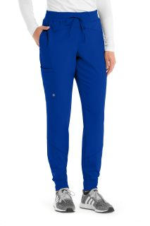 Barco One Bottoms for Medical 3pkt Elasticwaist Cargo Jogger-Barco One