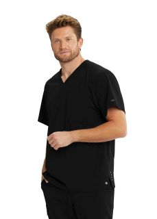M4pkt V-Neck Double Pocket Top-