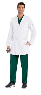 36in long 4 pocket Welt Lab Coat-Barco One Team