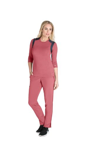 Barco One Melange Knit Top-Barco Wellness