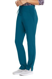 Women's 4 Pocket Flat Front Draw Cord Cargo pant - Barco Wellness-Barco Wellness