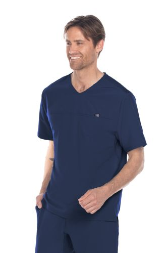 Barco One Men's Wellness Motion V Neck Top-Barco Wellness