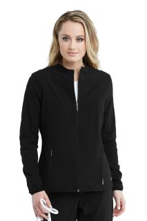 2pkt Zip Front Solid Warmup-Barco Wellness