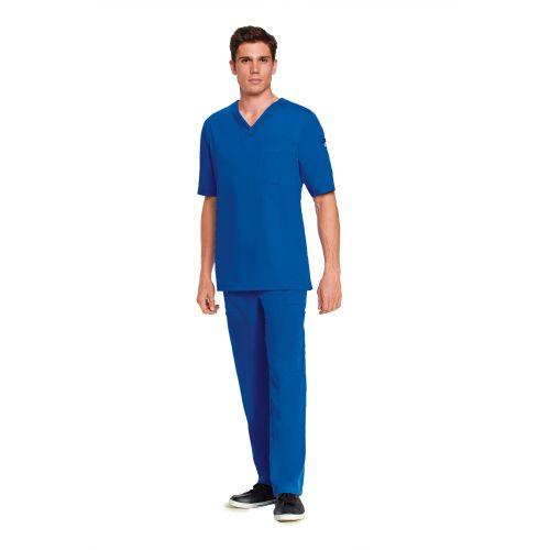 0103 Men's V-Neck Top by Grey's Anatomy-Greys Anatomy