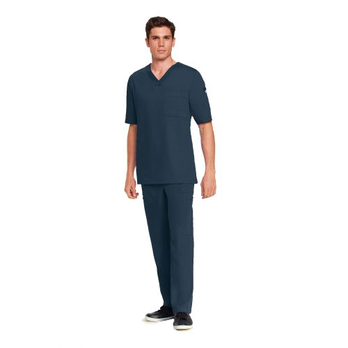 Grey's Men's 2 Chest Pocket V-Neck - 0103-Greys Anatomy
