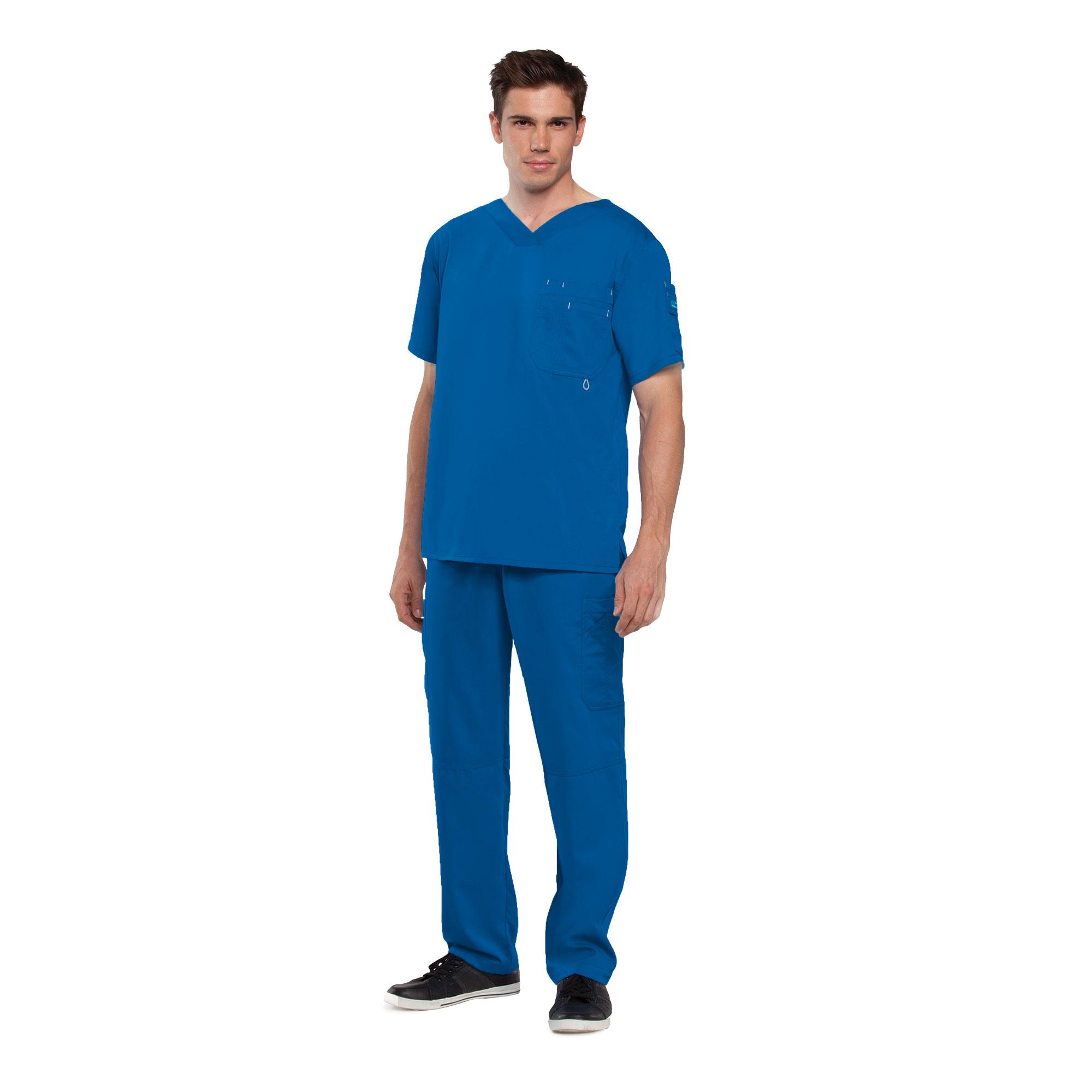 Buy 3 Pocket High Open V-Neck - Grey\'s Anatomy Online at Best price - IL