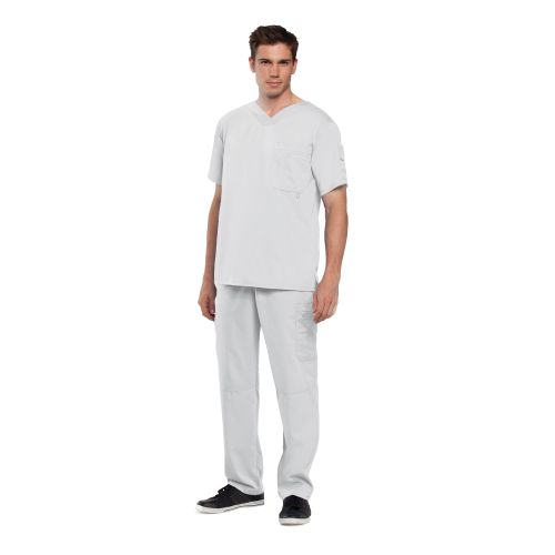 3 Pocket High OpenV-Neck-Greys Anatomy