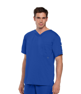 0107 Men's 3 Pocket High Open V-Neck by Grey's Anatomy