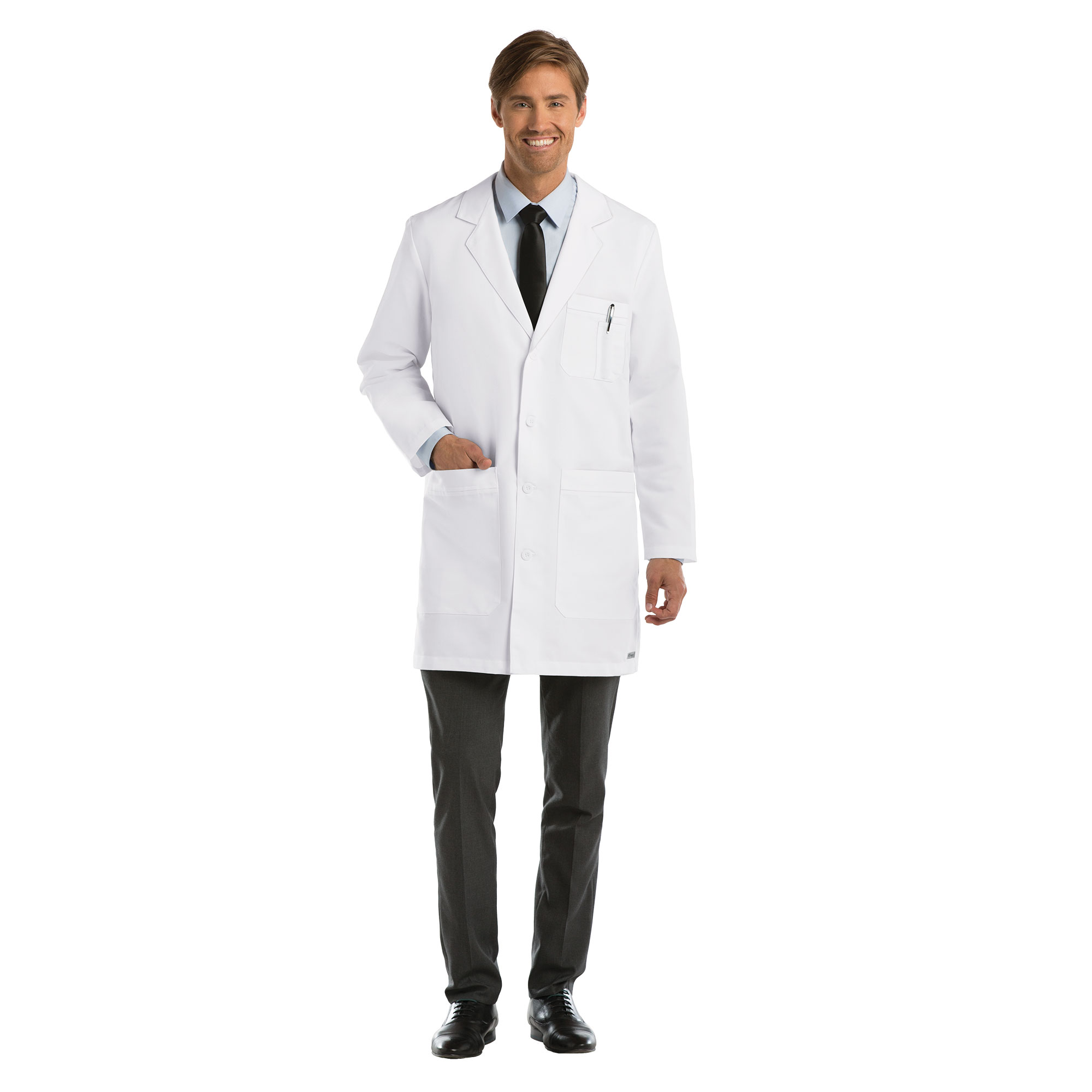 Barco Grey\'s Anatomy Men\'s Lab Coat