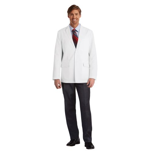 "4 Pocket 30"" Back Vent Labcoat-"