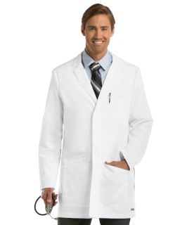 "6 Pocket 35"" Side Vent Labcoat"