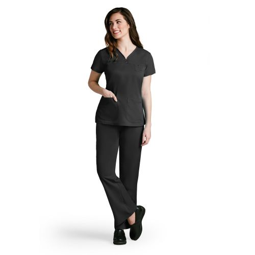 3 Pocket V-Neck Tonal Stitch-Greys Anatomy