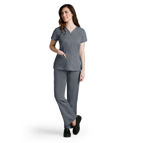 41340 Ladies Junior 3 Pocket Top by Grey's Anatomy -Greys Anatomy