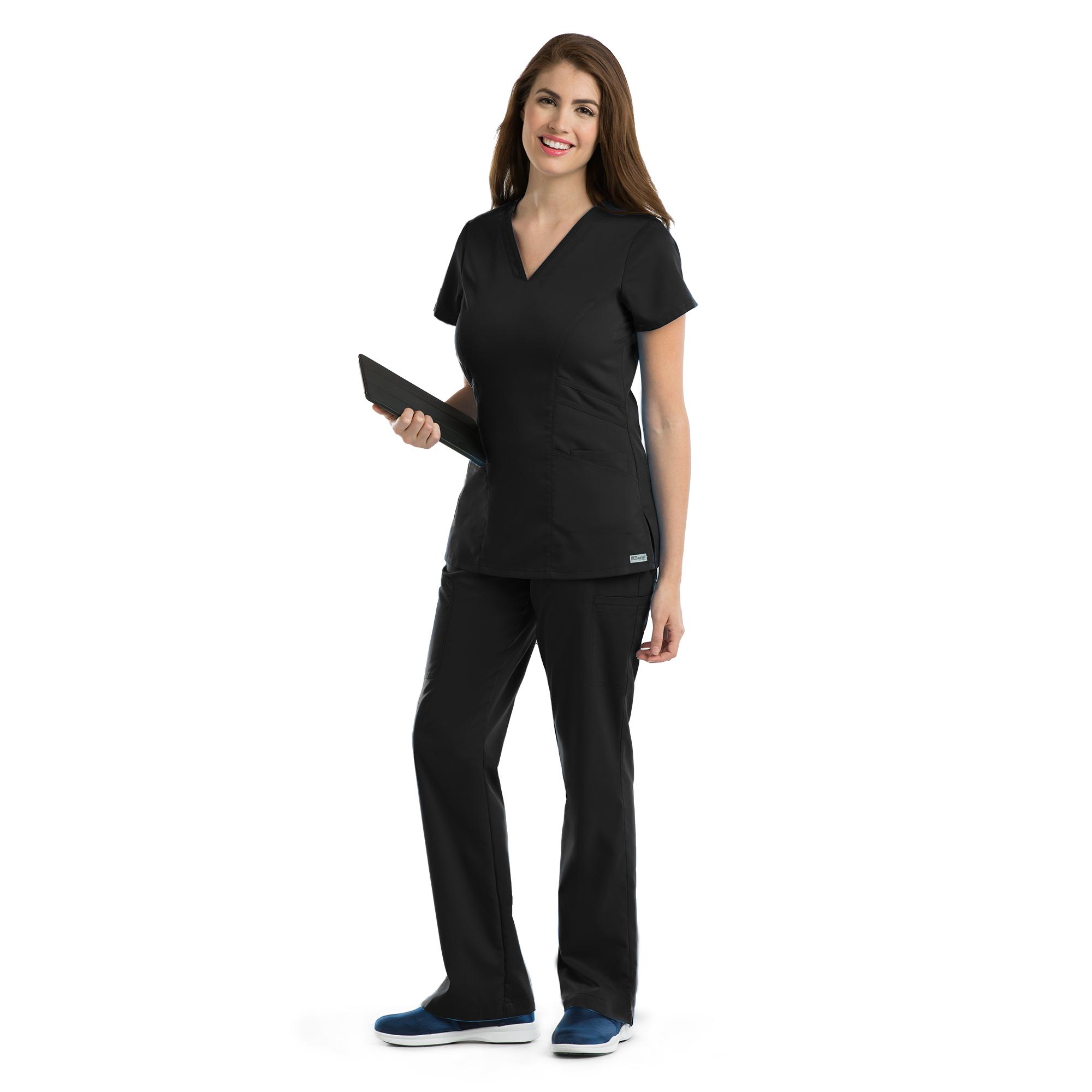 ff13c47bd9e Grey's Anatomy Three Pocket Marquis V-Neck Scrub Top