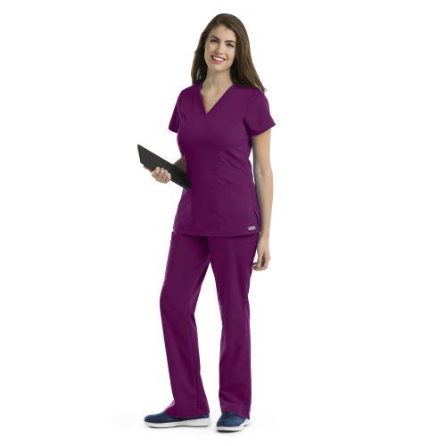 Grey's 3 Pocket Princess V -Neck-Grey's Anatomy
