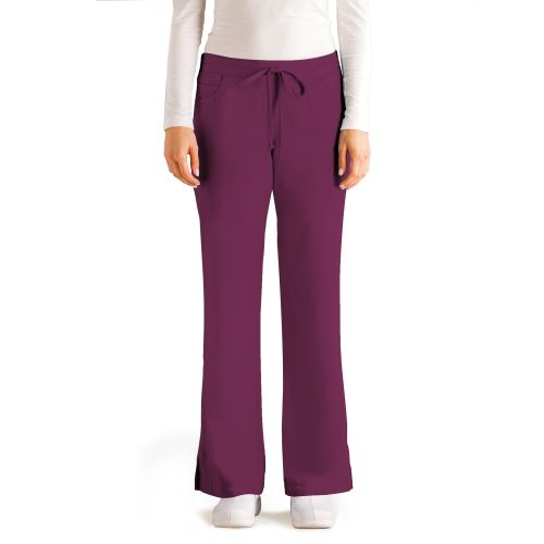 Grey's 5 Pocket Drawstring Pant-Greys Anatomy