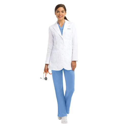 "Barco Grey's Anatomy Women's 32"" Princess Seam White Lab Coat-4425-Greys Anatomy"
