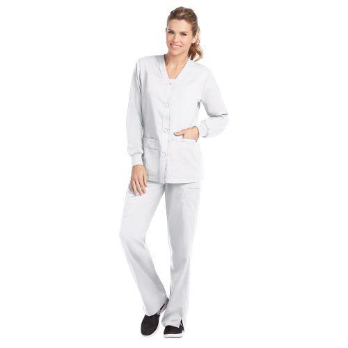 My Grey's 4 Pocket Sporty Warm-up Jacket - 4435-Greys Anatomy