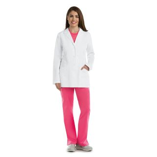 "4 Pocket 30"" Princess Labcoat"