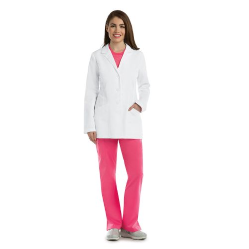 "4 Pocket 30"" Princess Labcoat-"