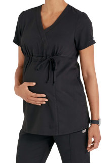 Grey's 2pkt Maternity V-Neck by Barco