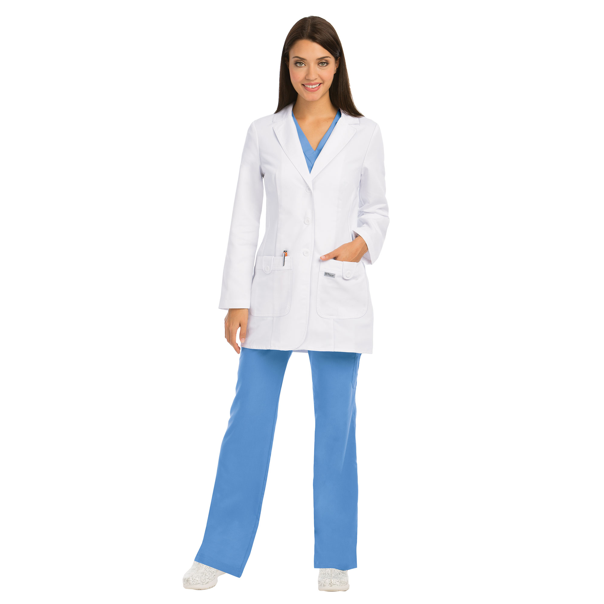 Buy 32 In 2 Pocket Fitted Lab - Grey\'s Anatomy Online at Best price - IN