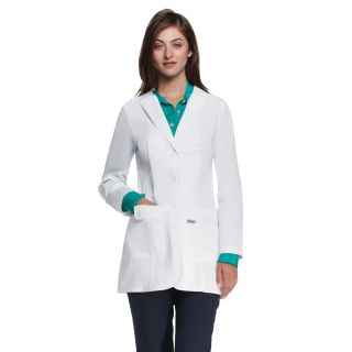"Missy 32"" 2 Pocket Lab Coat W/ Back Tab"