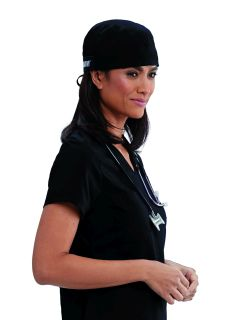 Fitted Cap With Self Tie Back-Greys Anatomy