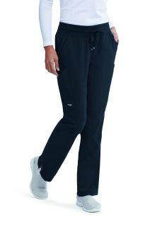 Grey's NEW 4 Pocket Mesh Trim Scrub Pants-Grey's Anatomy