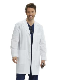 M6pkt 3 Butn Vent Bk Lab Coat-Greys Anatomy
