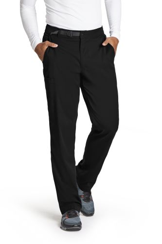 Gereys Anatomy +Spandex Stretch 4 Pocket Belt Waist Cargo Scrub Pant-