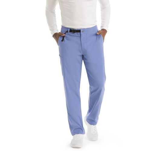 Grey's NEW Men's Stretch Belt Closure Scrub Pant - GRSP507-Grey's Anatomy