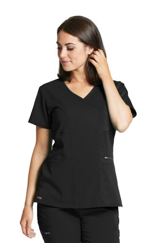 3pkt Surplice Princess Top-Grey's Anatomy