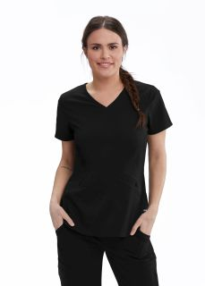 3pkt V-Neck Fr& Bk Princess Top-Greys Anatomy