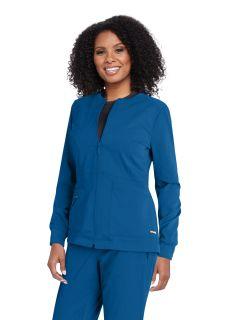 Grey's NEW 3 Pocket Princess Warm Up Scrub Jacket-Greys Anatomy